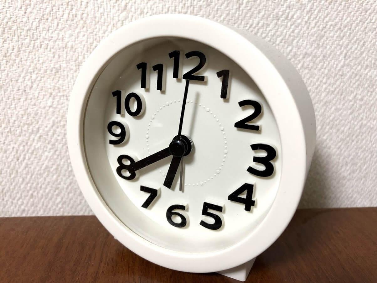 時間感覚は仕事において大切。時間感覚が合わないと信頼関係が築けない