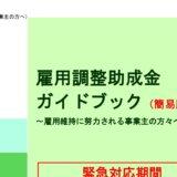 【愛知県】市町村の雇用調整助成金に関する申請支援制度
