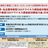 【愛知県】新型コロナウイルス感染症対策協力金の申請手続き